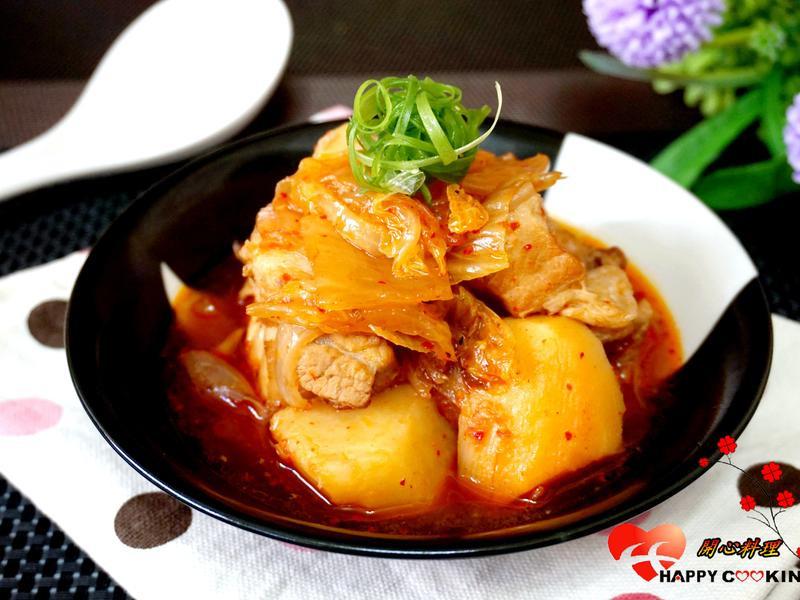 泡菜馬鈴薯燉肉【歡慶大同電鍋55週年】