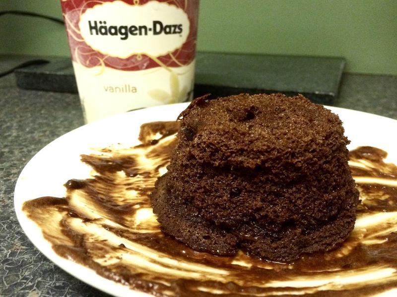 超簡單熔岩巧克力慕斯蛋糕