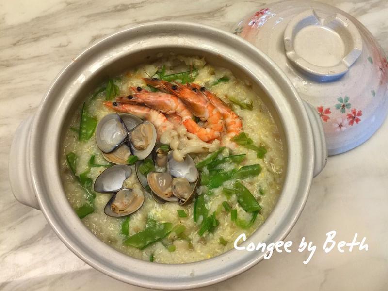 菇蔬海鮮雜炊