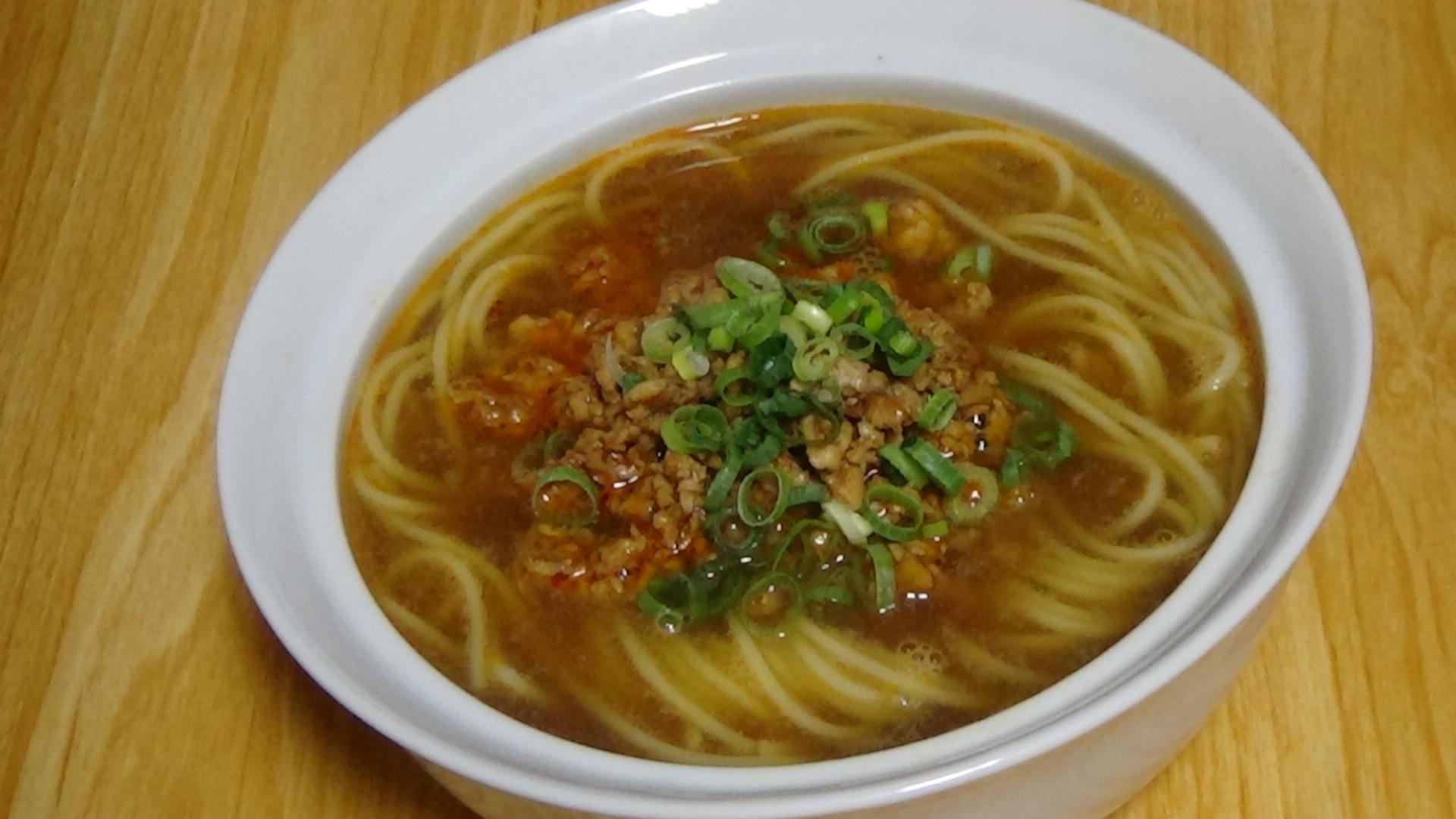魔芋担々麺(蒟蒻担々麺)