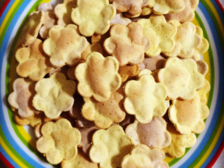 南瓜燕麥毛小孩餅乾