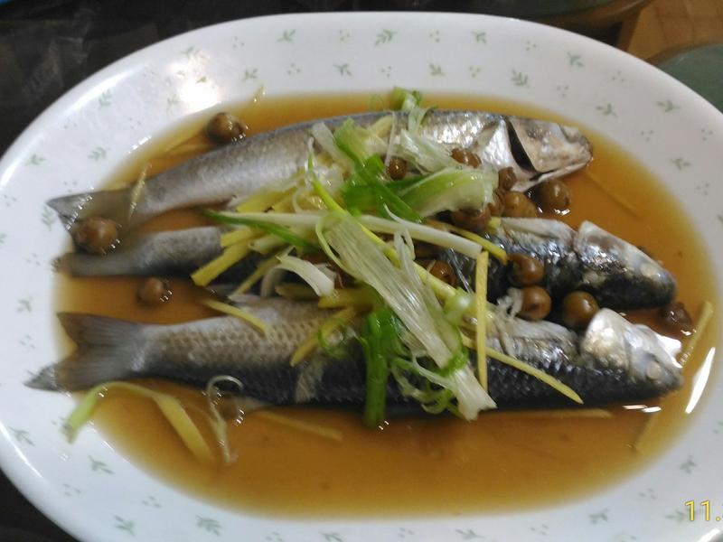 清蒸豆仔魚