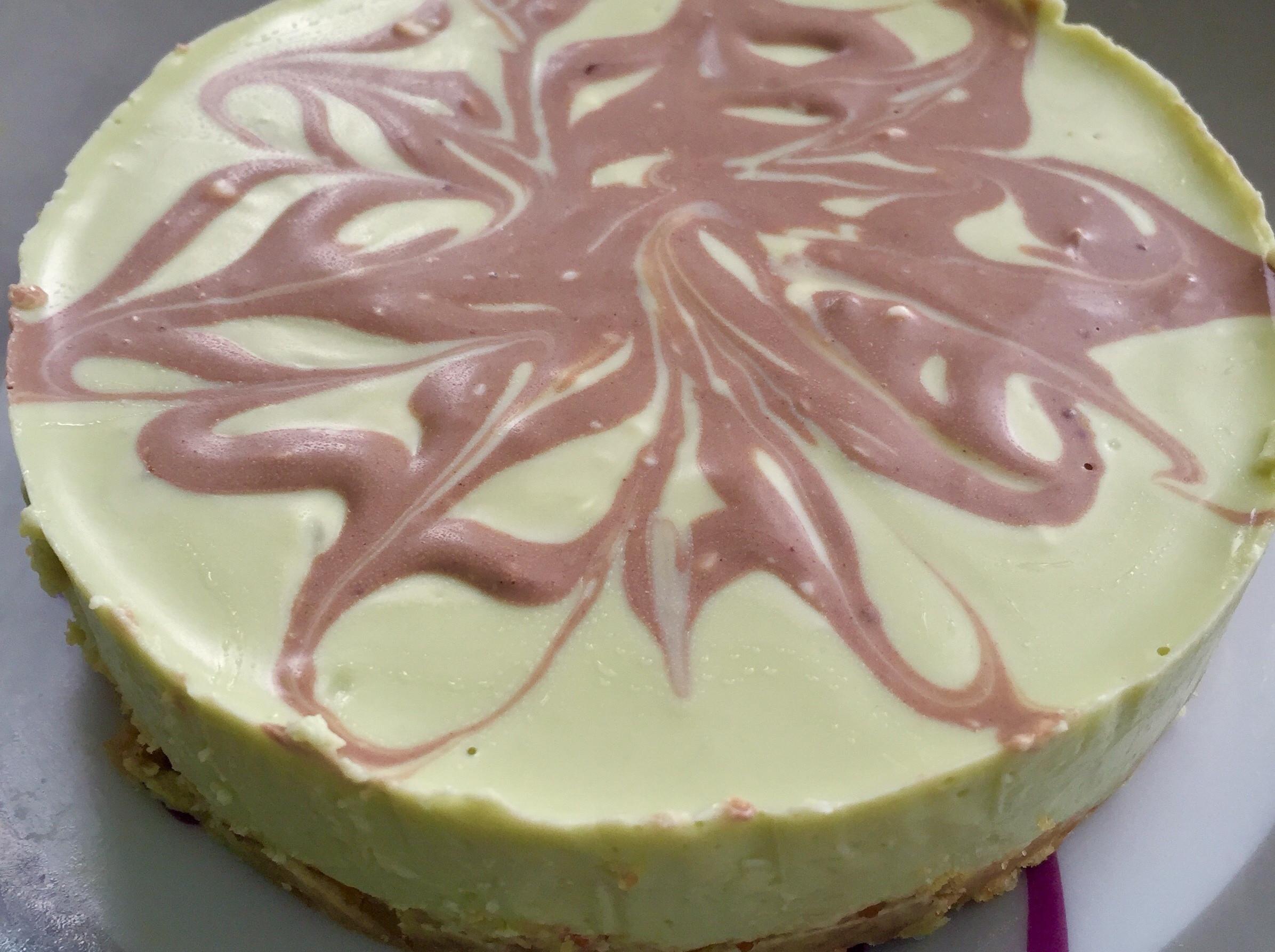 (免烤箱)抹茶優格乳酪蛋糕