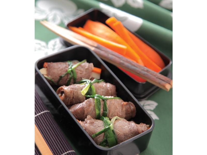 韭菜牛肉卷