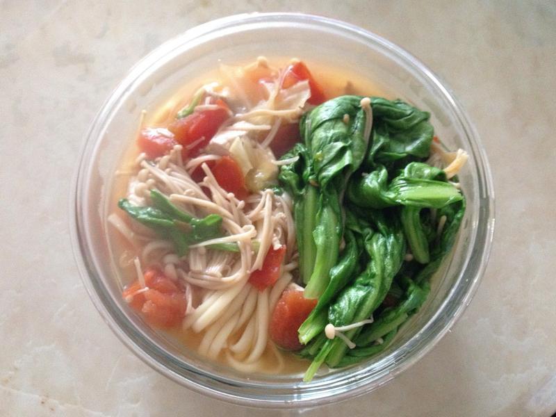 紅燒蕃茄蔬菜麵💕