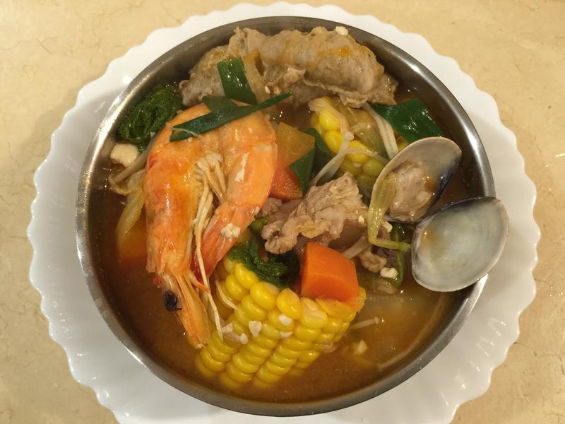 韓式辣味大醬湯
