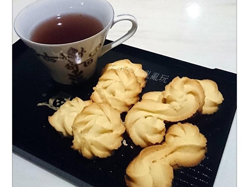 手工奶酥餅乾~5材料、5步驟簡單做