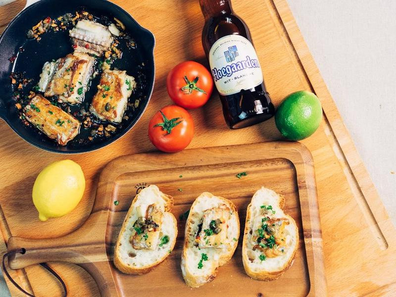 西班牙橄欖油漬白帶魚 Tapas