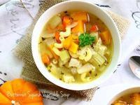 高纖食感~奶油南瓜蔬菜湯