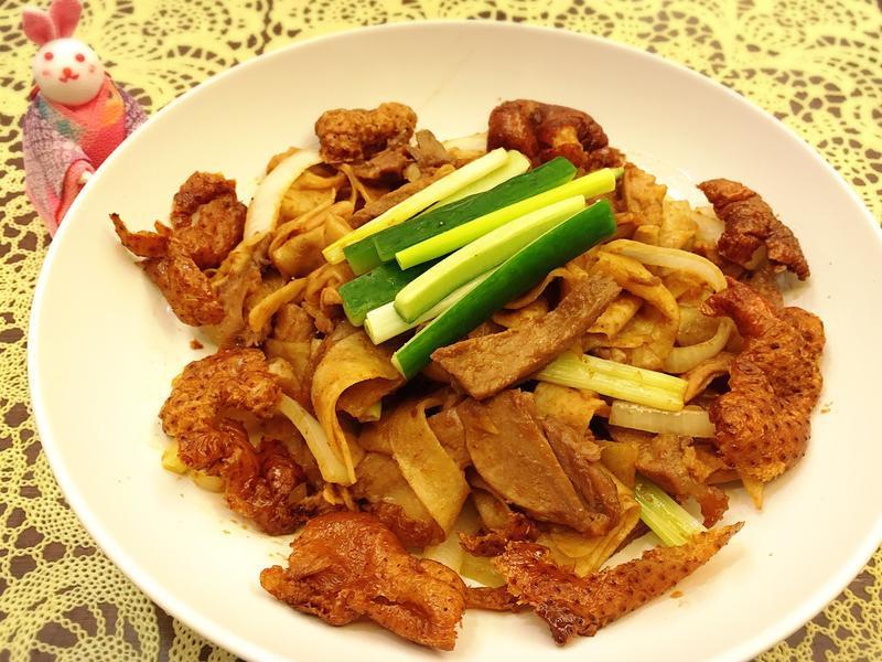 「剩菜料理」烤鴨炒餅