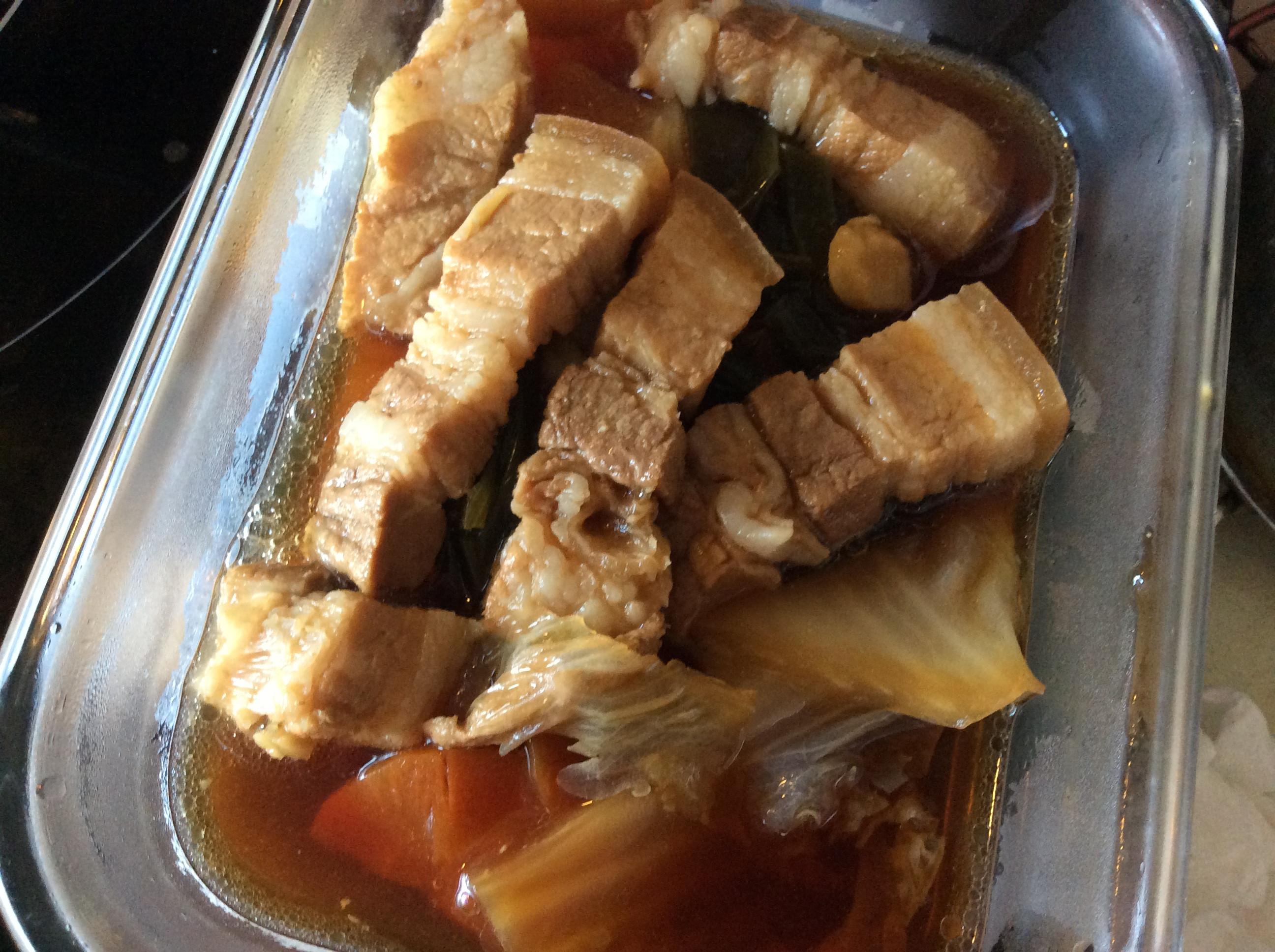 五花滷白菜(電鍋版)