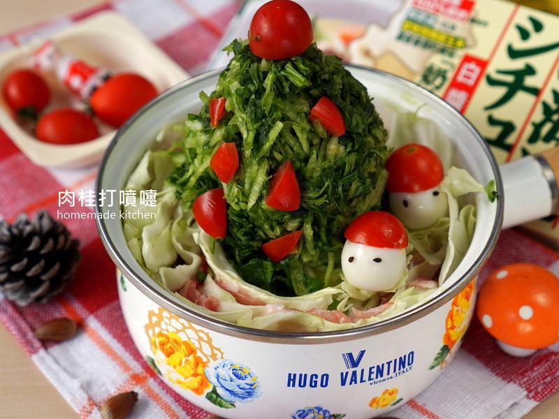 高麗菜豬肉白醬鍋【好侍北海道白醬料理】