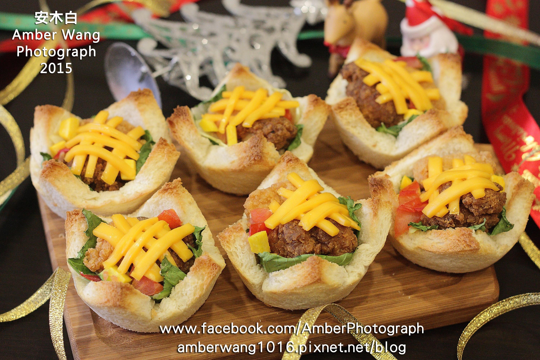 雞肉蔬菜杯子三明治【小七派對美食】
