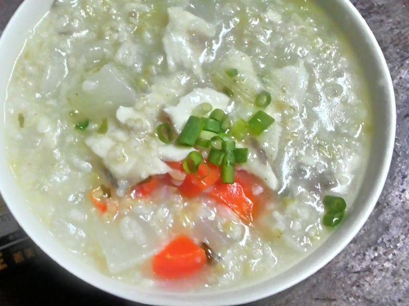 臺灣鯛30分鐘上菜~鯛魚糙米粥
