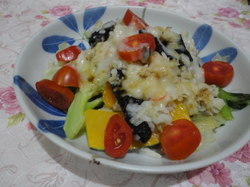 奶油蔬菜燉飯(好侍北海道白醬料理)