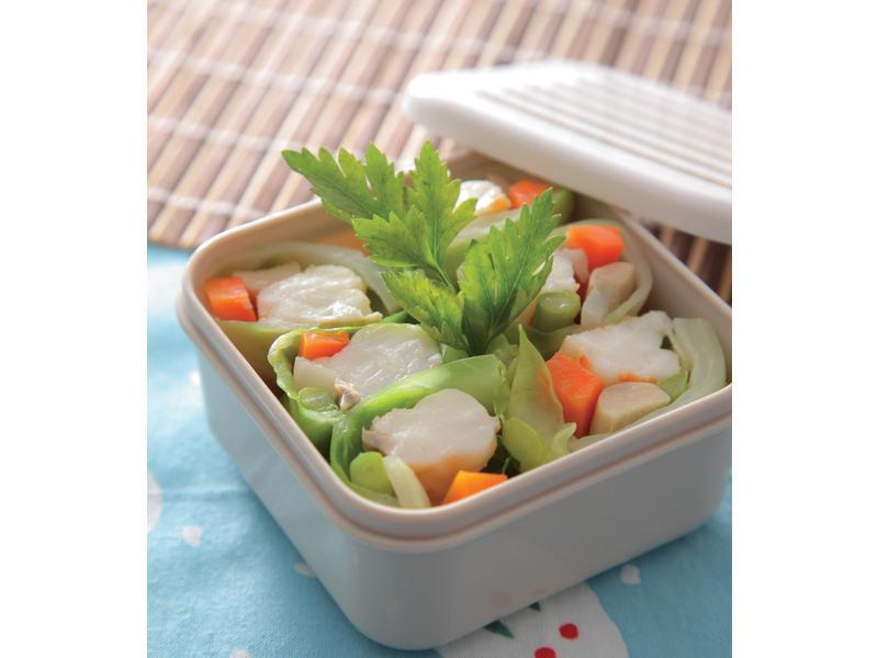 椰菜鮮蝦卷