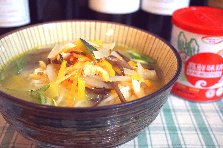 野蔬拉麵「味之素品牌」高鮮味精