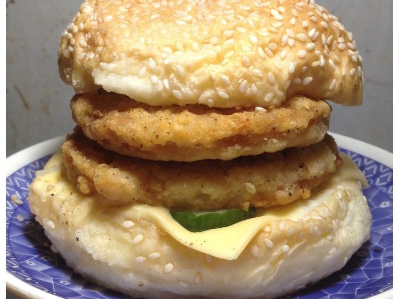 (雞肉)漢堡
