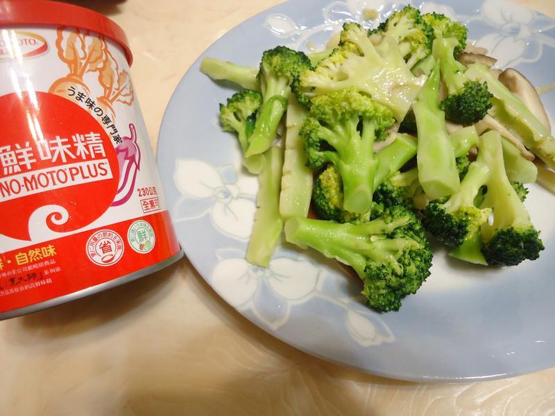 花椰菜家常炒「味之素品牌」高鮮味精