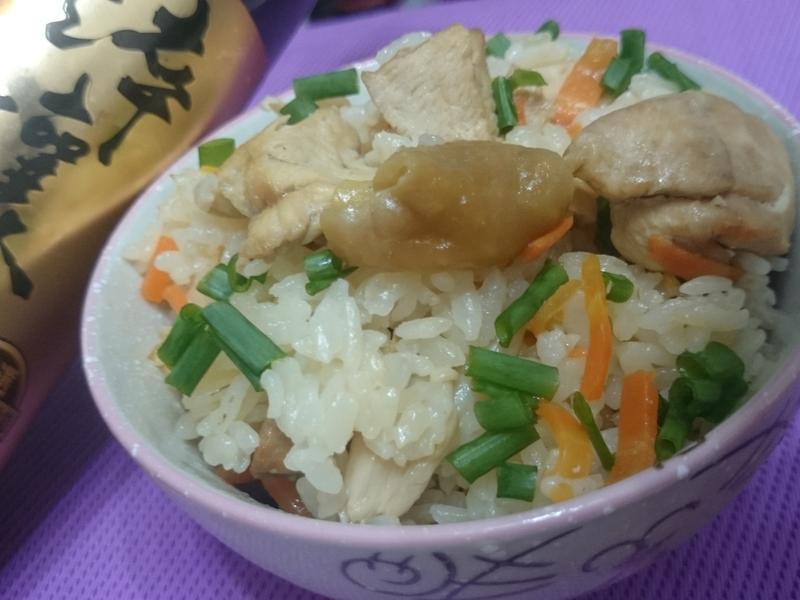 雞肉菇菇炊飯【淬釀真心食堂】
