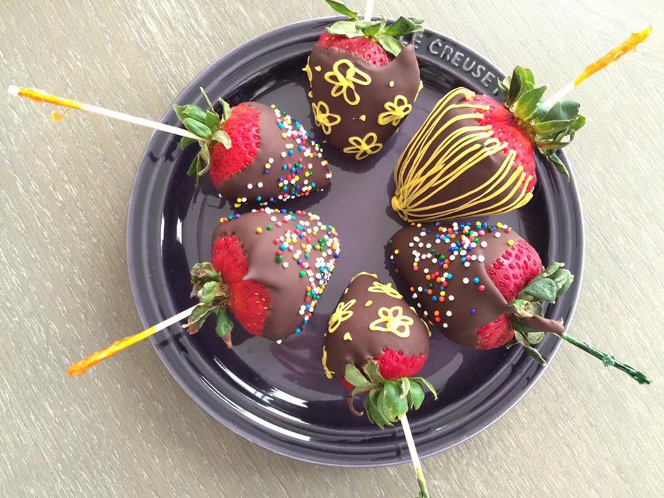 草莓巧克力(脆皮) 進階版