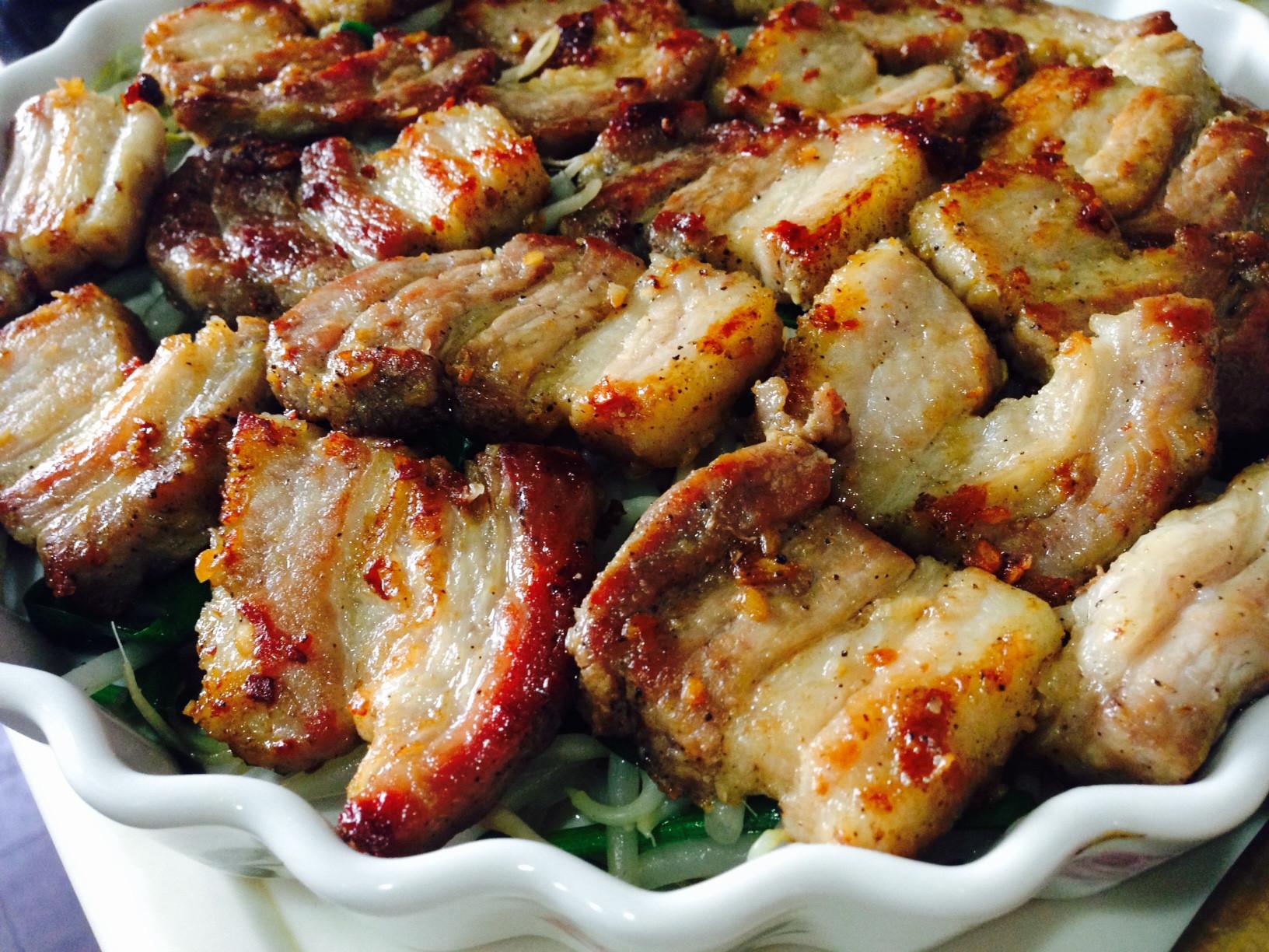 鹹豬肉烤飯