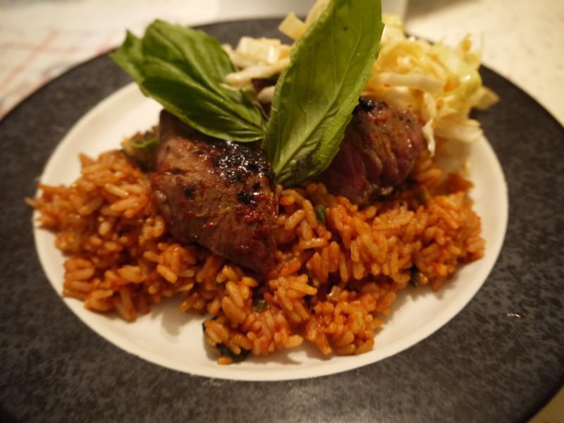 韓式泡菜牛排