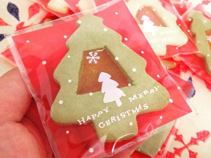 聖誕節-彩色玻璃餅乾