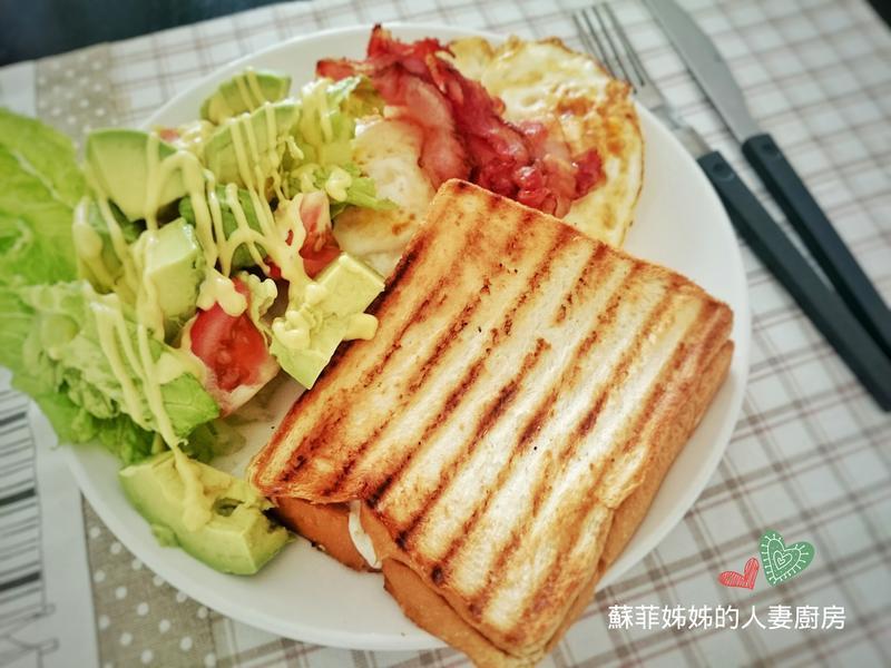 幸福早午餐_熱壓土司套餐