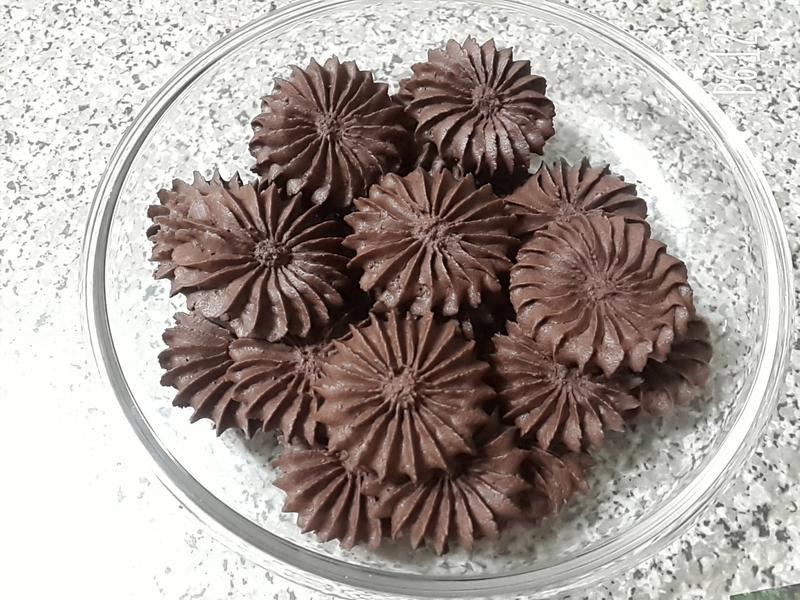 法芙娜可可奶酥餅乾~