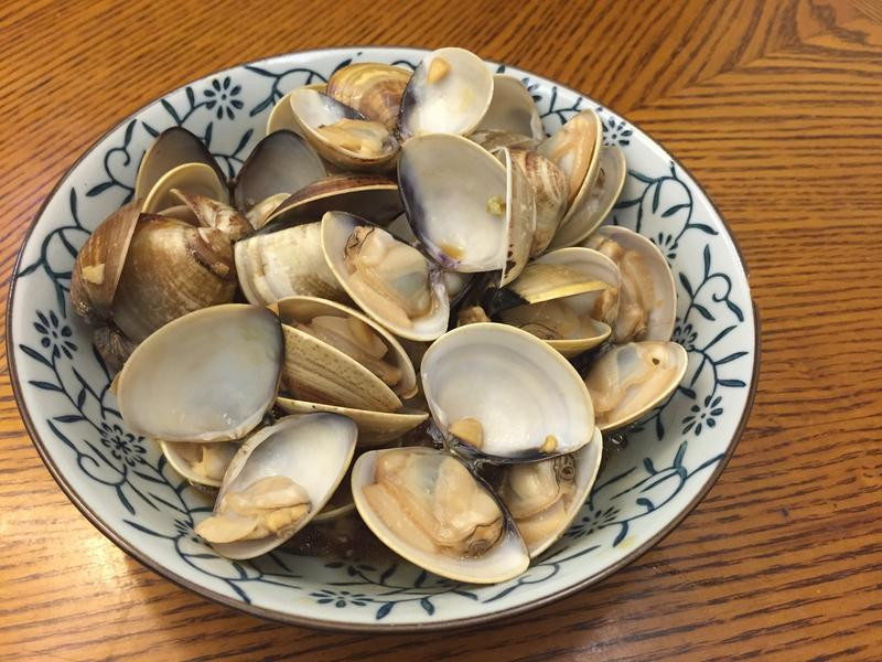 蒜香炒蛤蠣