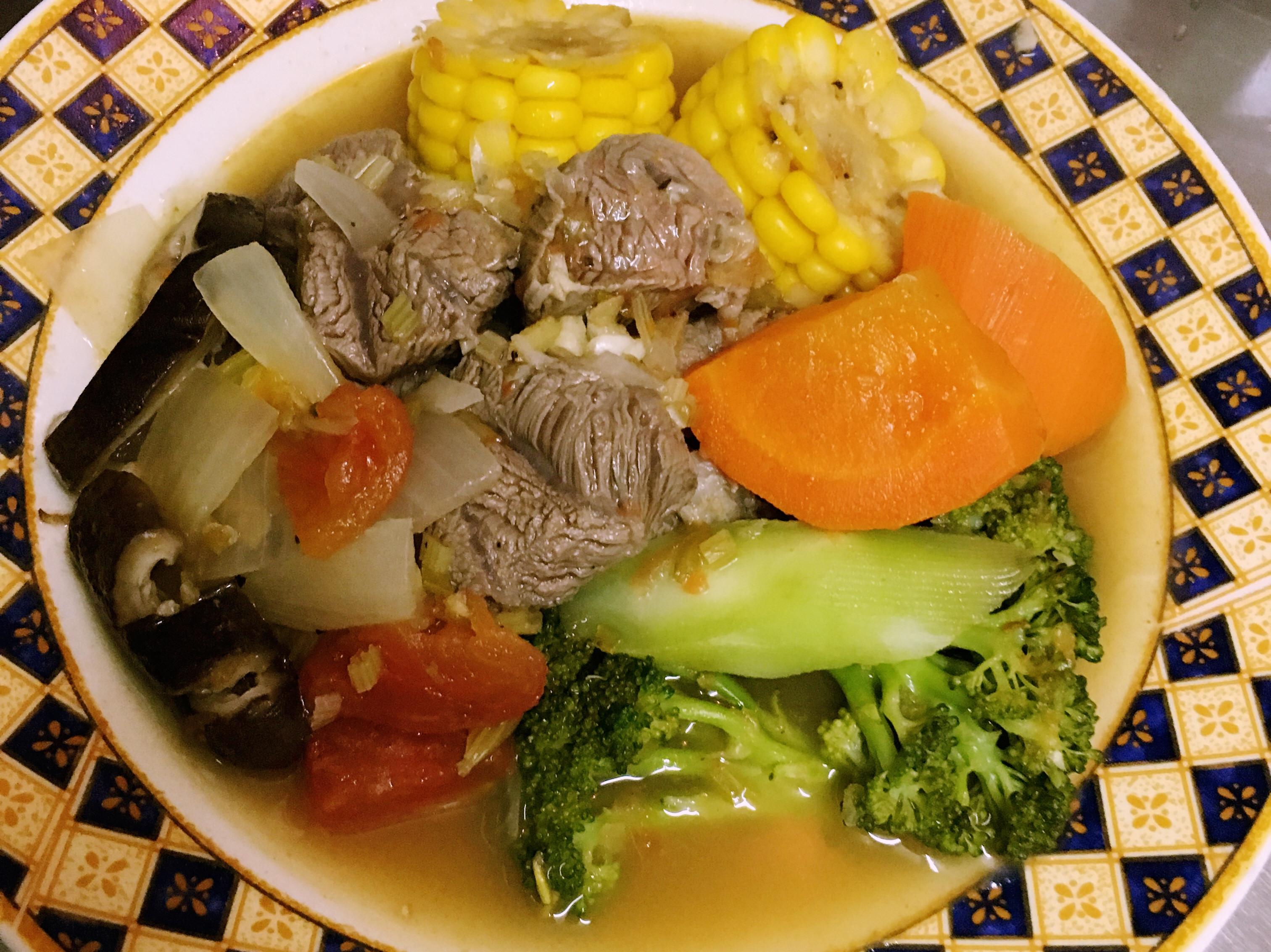 超經濟健康美味的蕃茄牛肉湯💪🏿
