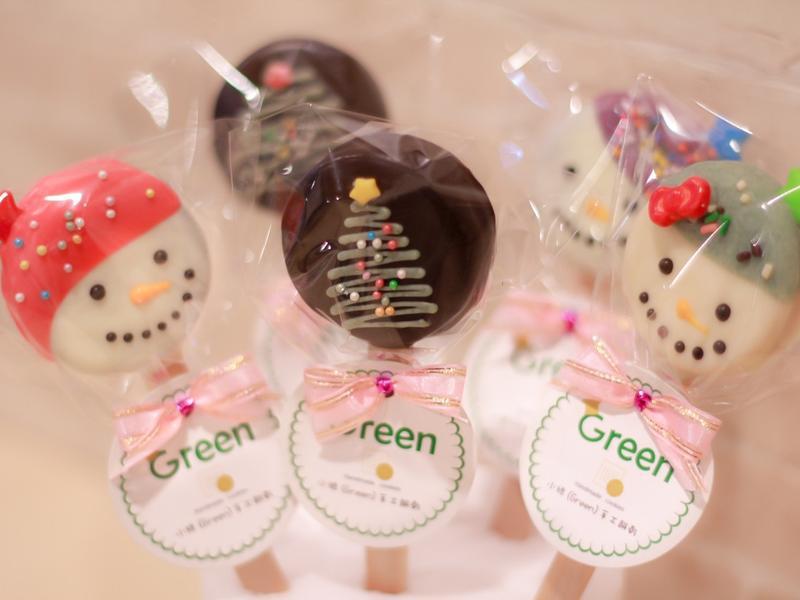 【聖誕快速懶人DIY方法】巧克力棒棒餅
