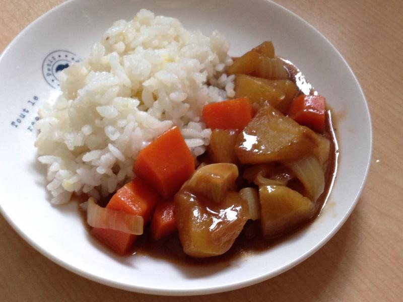 日式料理✡*蘋果咖哩飯