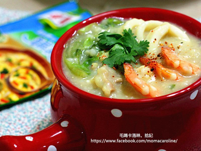 海陸薑黃鮮粥