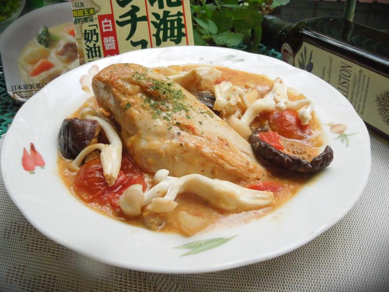 白醬燉雞【好侍北海道白醬料理】
