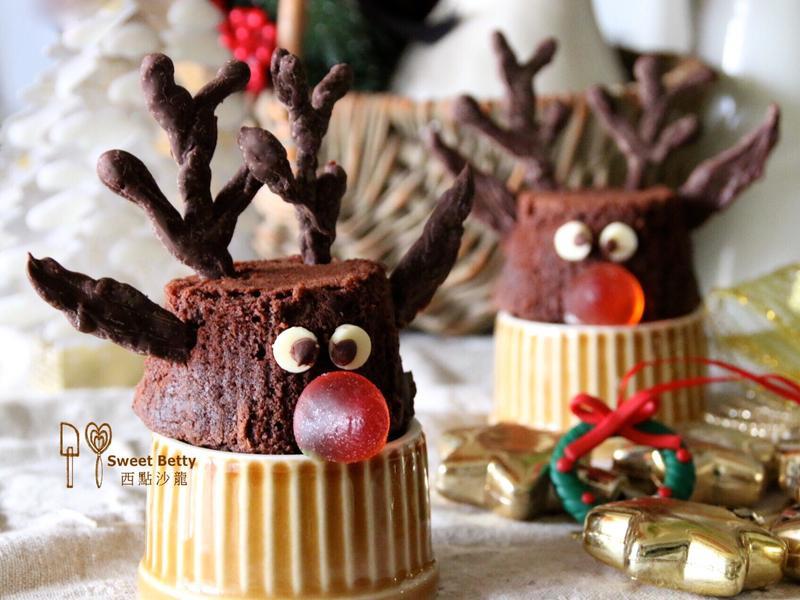 聖誕麋鹿造型蛋糕