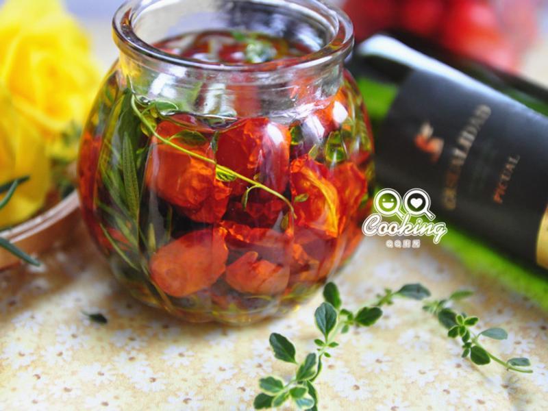 油漬香草蕃茄【BARRO特級初榨橄欖油】