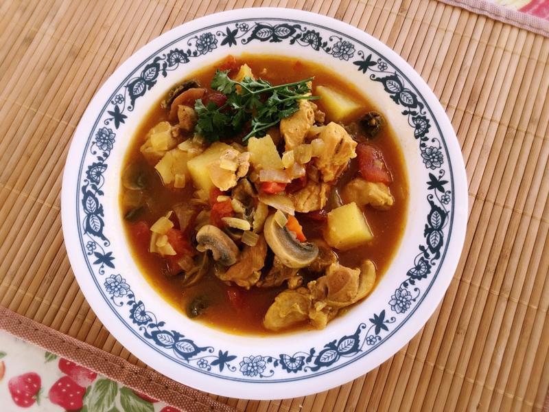 印度辣味咖哩雞