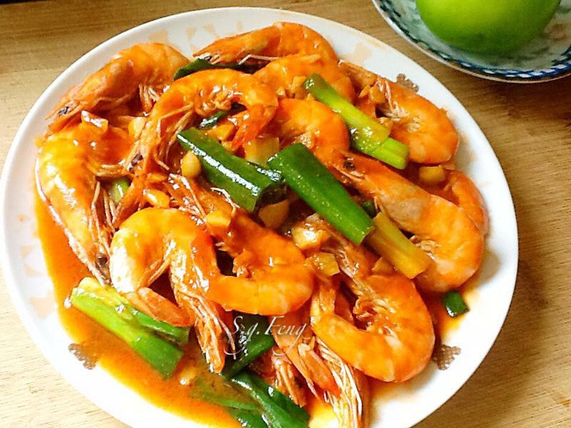 蒜香茄汁蝦