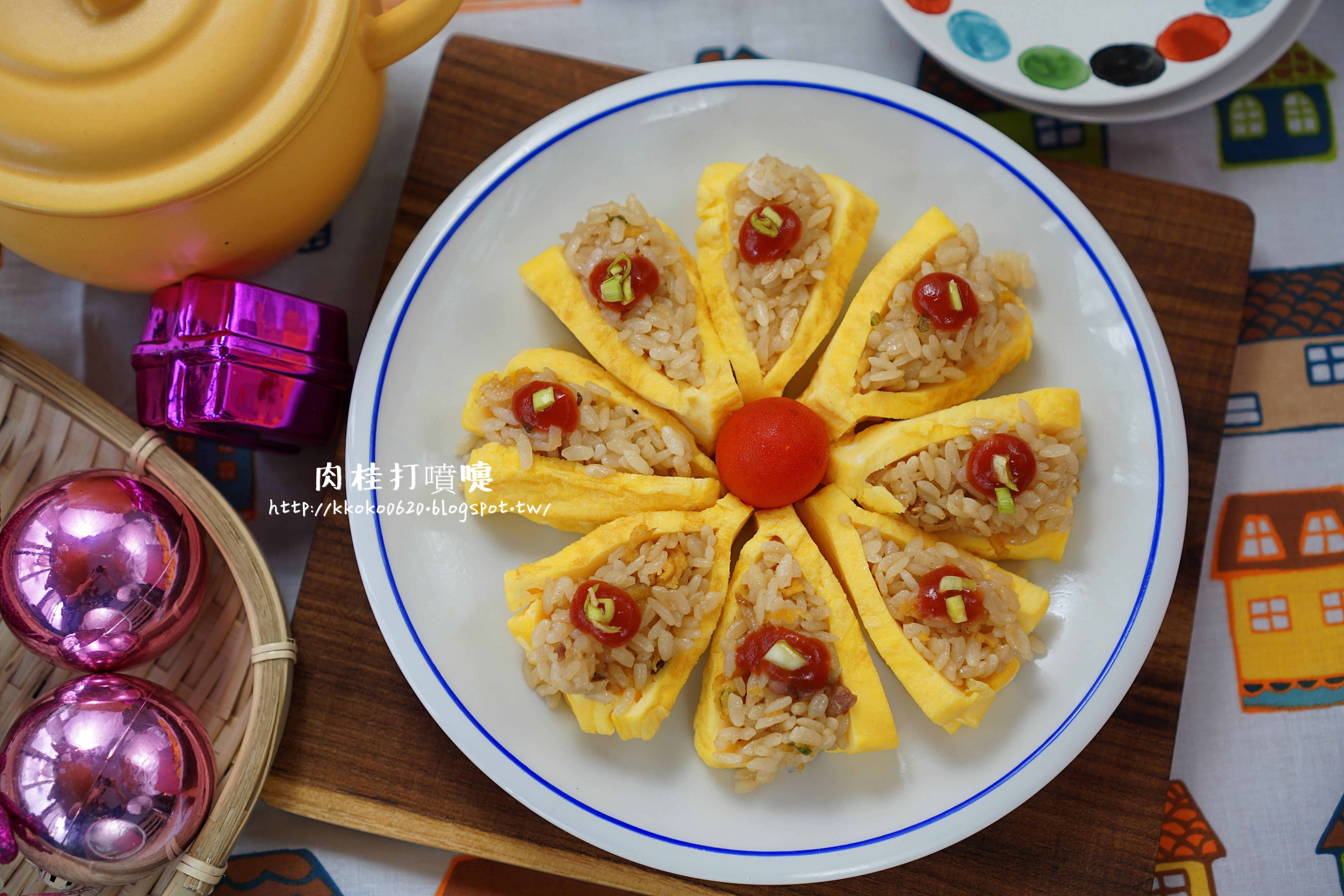 快速日式煎蛋壽司【小七派對美食】