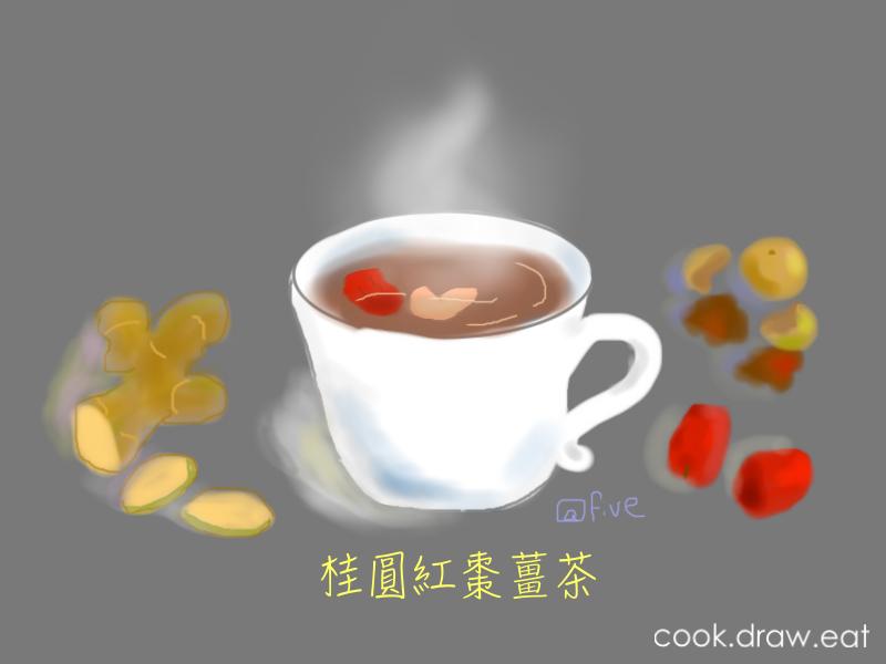 桂圓紅棗薑茶