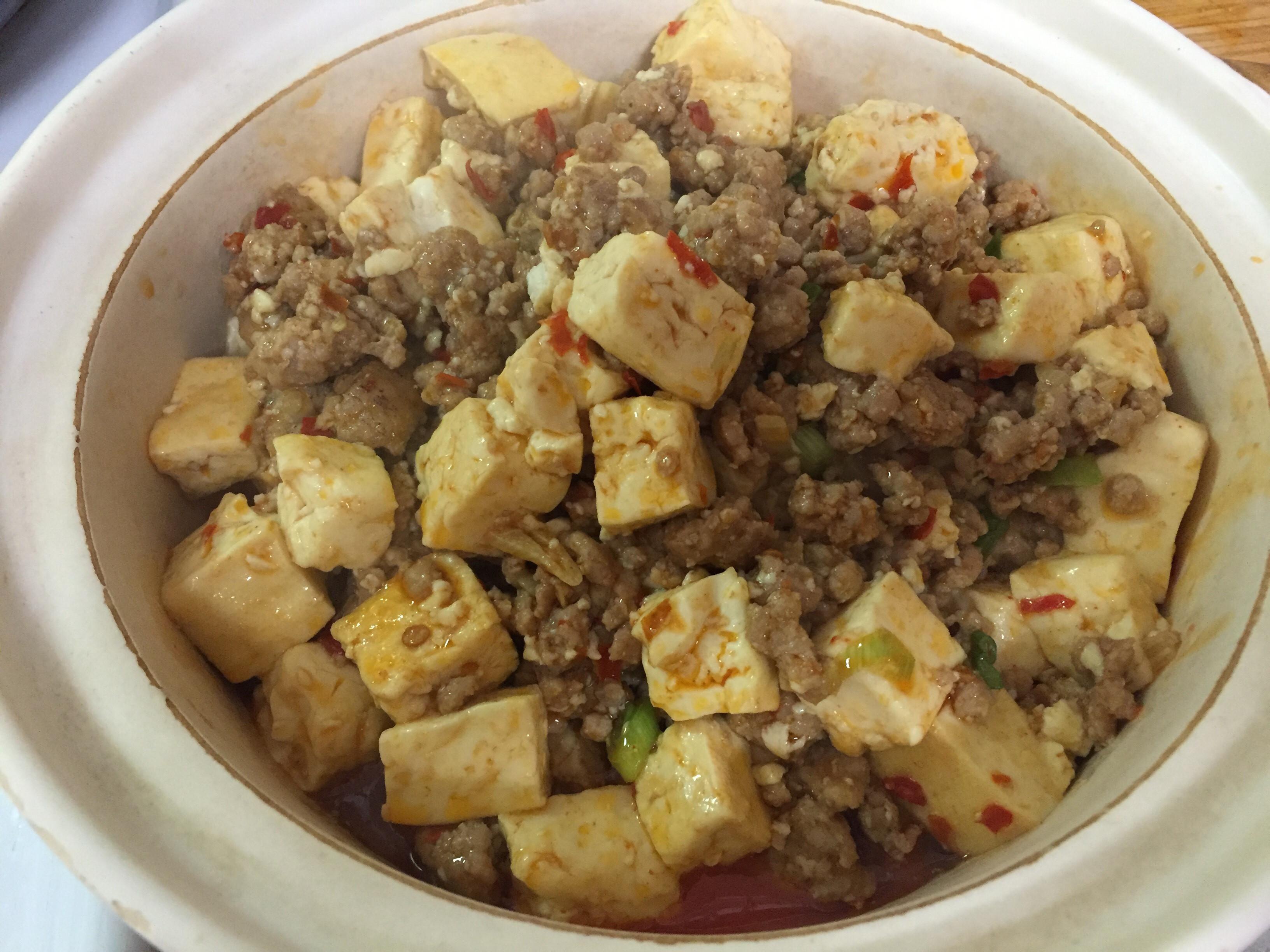 好吃到落淚的台式麻~婆豆腐