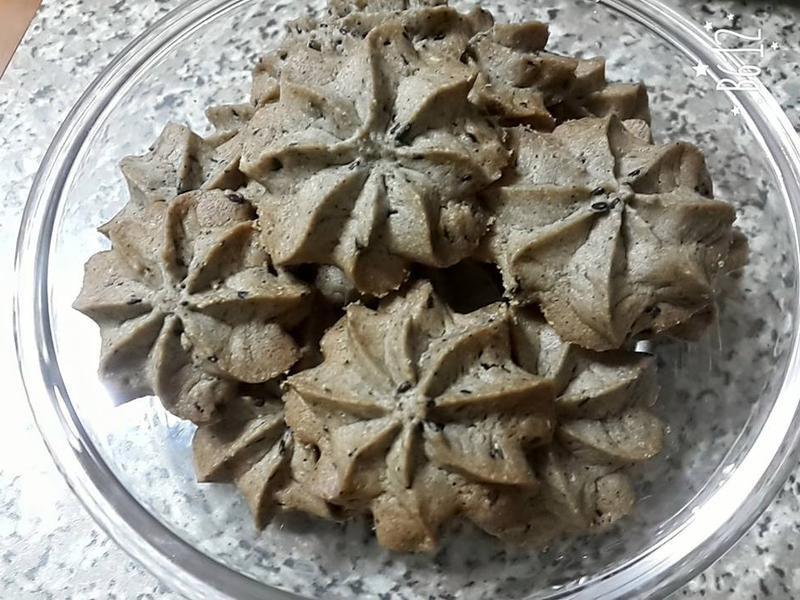 香濃芝麻奶酥餅乾~