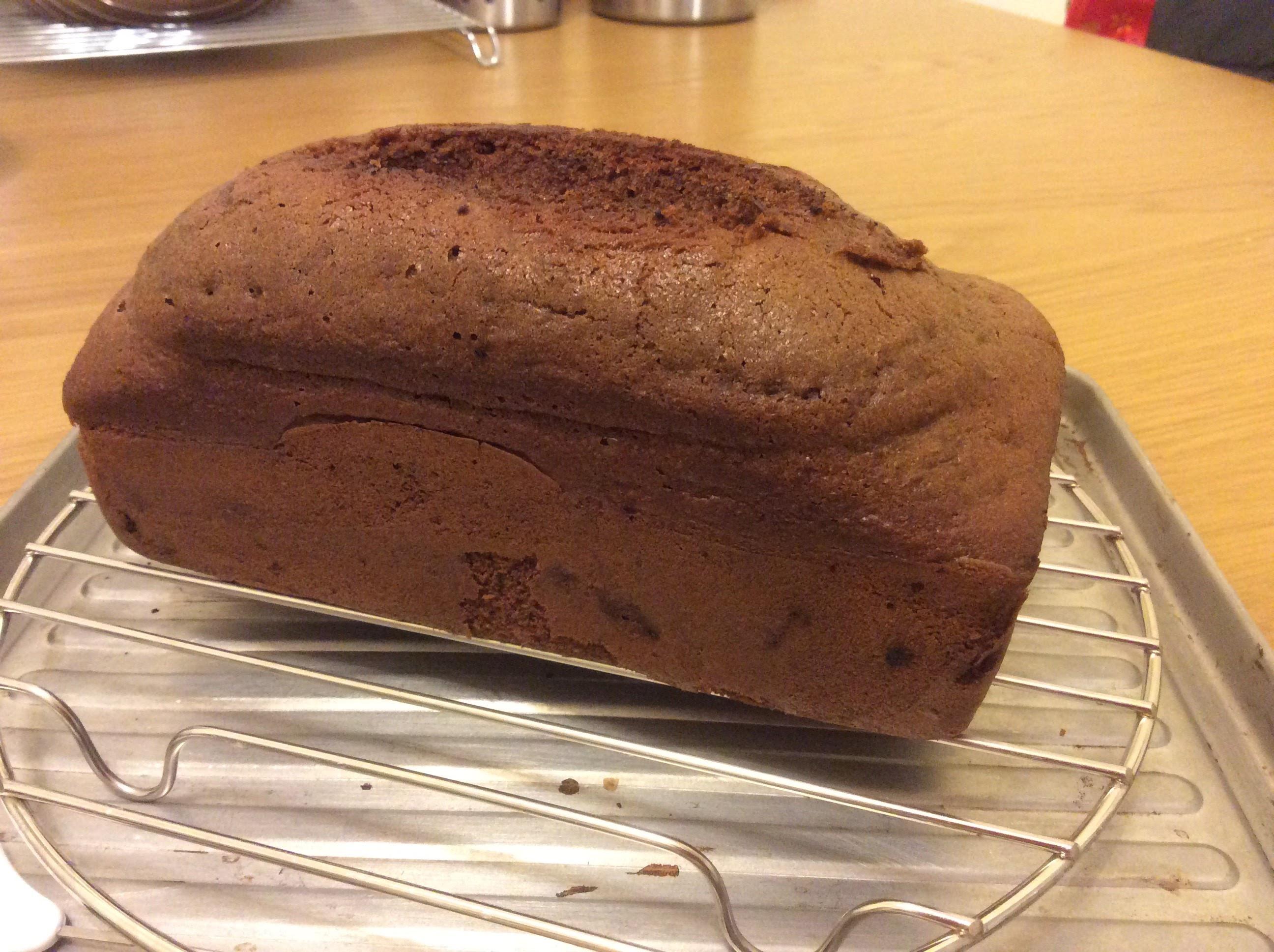 可可葡萄乾磅蛋糕