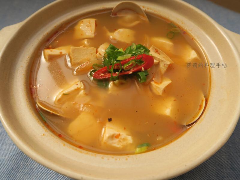韓式嫩豆腐鍋,會燒水就上手~六十元搞定!
