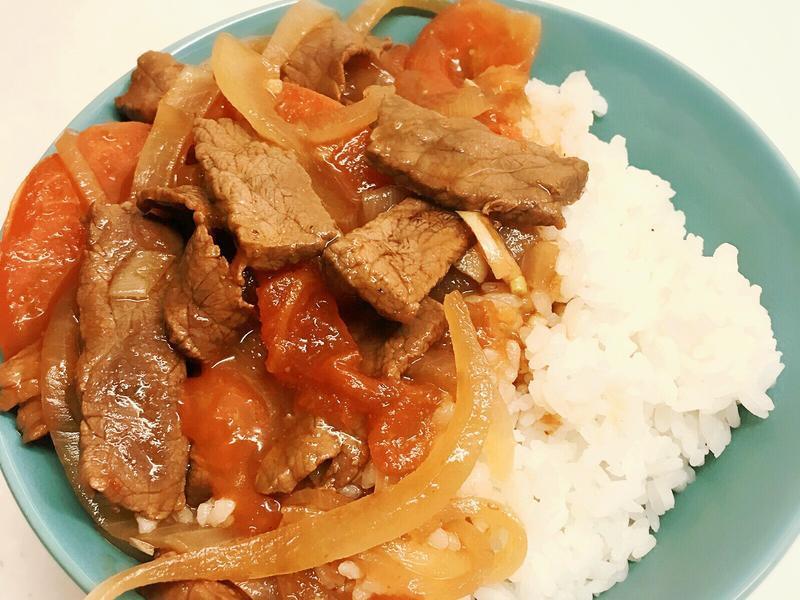 🍲中式酸辣牛𦟌蓋飯🍅低脂版