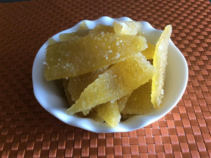 糖漬柚子皮
