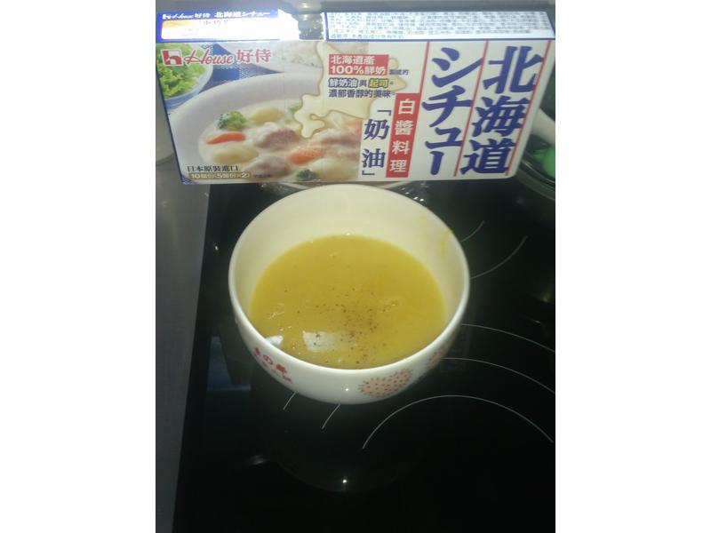 南瓜濃湯【好侍北海道白醬料理】