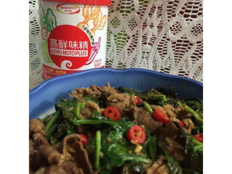 塔香炒羊肉-「味之素品牌」高鮮味精